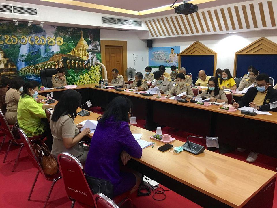 สำนักงาน กศน. จังหวัดกำแพงเพชร เข้าร่วมประชุมคณะกรรมการบริหารกองทุนพัฒนาเด็กชนบทจังหวัดกำแพงเพชร ครั้งที่ 1/2563