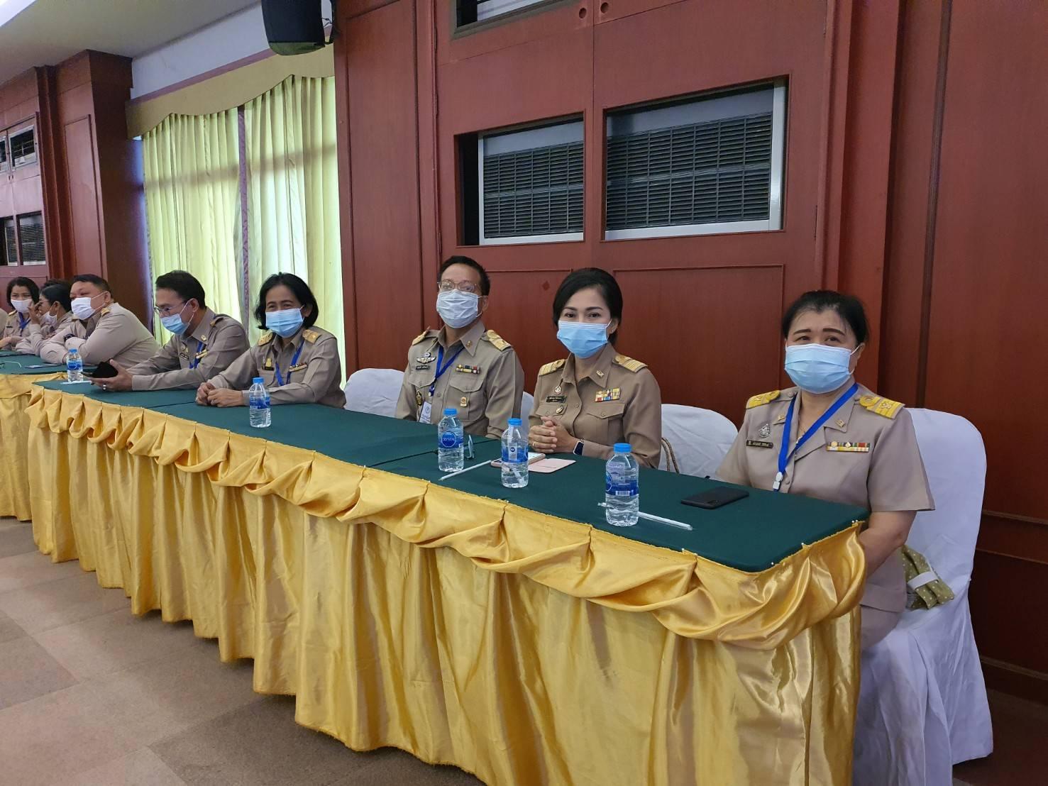 โครงการอบรมเตรียมความพร้อมและพัฒนาอย่างเข้มตำแหน่งครูผู้ช่วย สังกัดสำนักงาน กศน. จังหวัด กลุ่ม อู่ข้าวอู่น้ำ ระหว่างวันที่ 9-13 ตุลาคม 2563