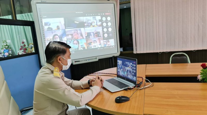 """การสร้างเว็บข้อมูลความรู้ชุมชน"""" ด้วยระบบออนไลน์ ตามโครงการคลังความรู้ กศน. เพื่อการพัฒนาคุณภาพชีวิต (Thailand Knowledge Portal TKP)"""